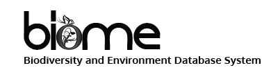 BIOME - Biodiversity and Environment Database System